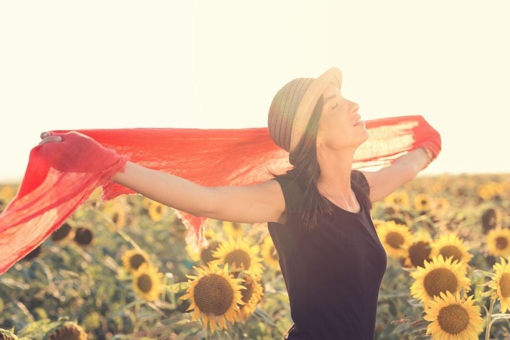 Gypsy soul woman loves her freedom
