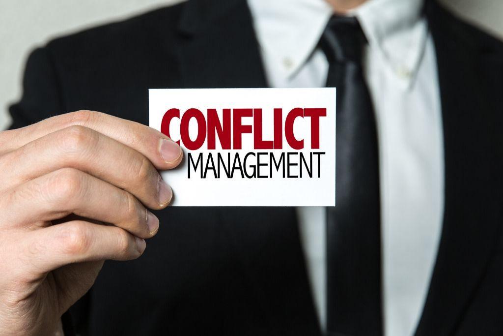 Be A Conflict Manager