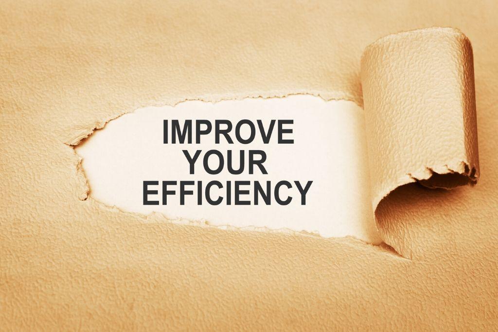 Improves Efficiency