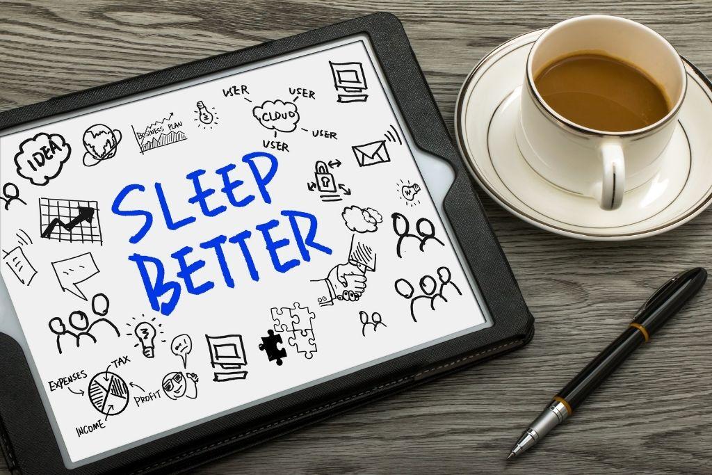 Increased and better sleep