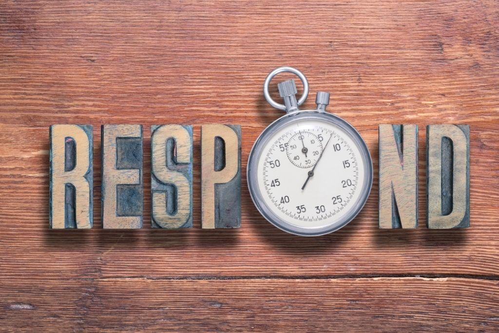 Remind them to respond