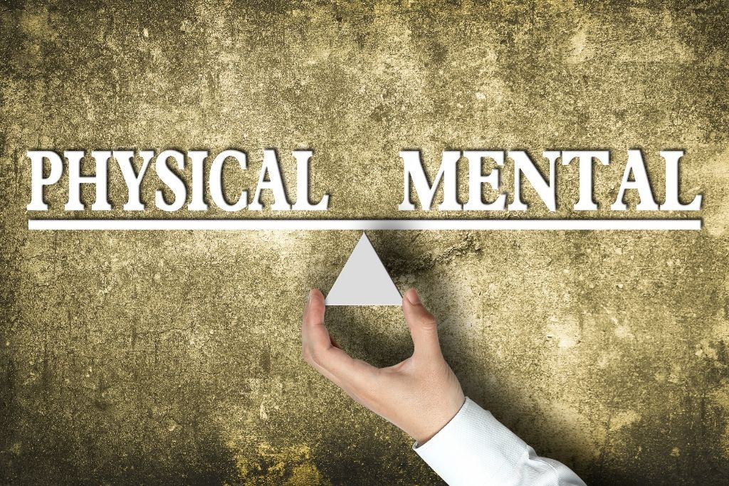 Address your physical and mental ailments