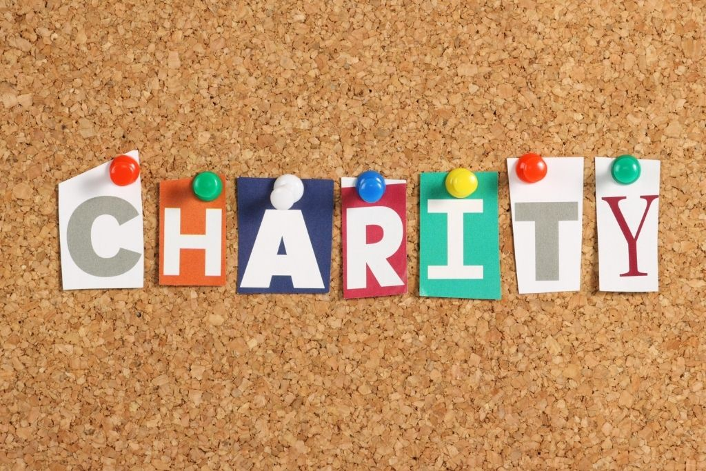 Charity goals