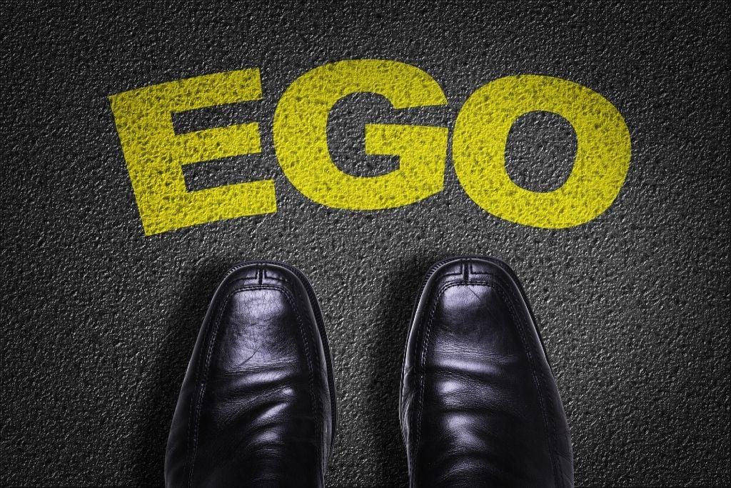 Discern ego and higher self