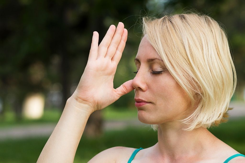 Exercise and practice breathing