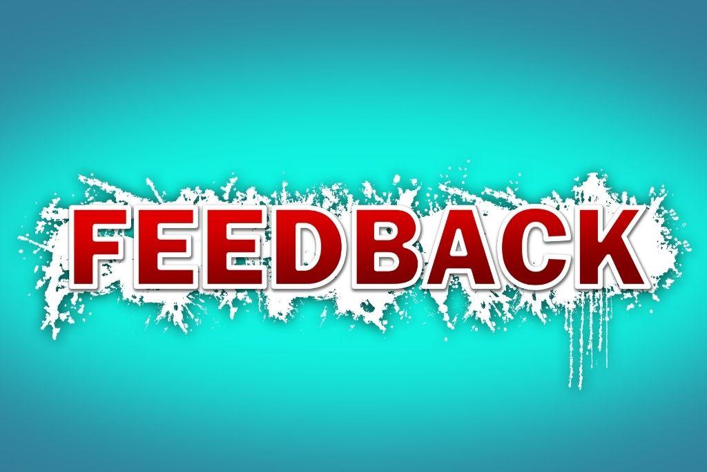 Give honest feedback