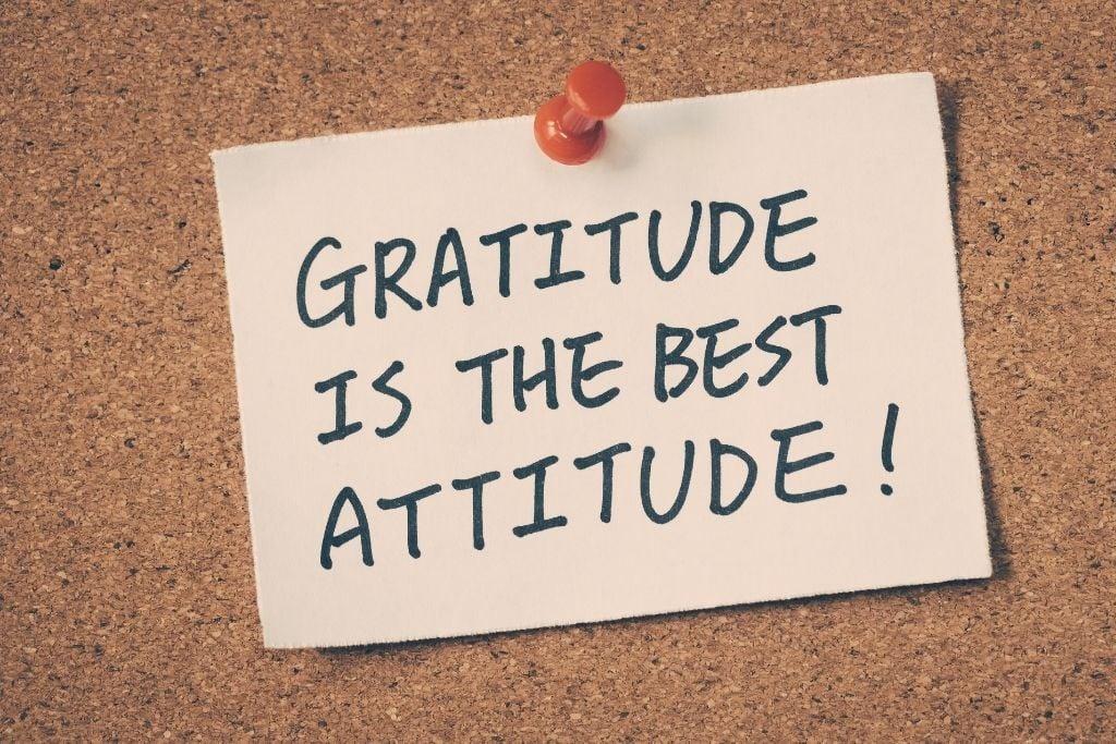 Gratitude is pivotal