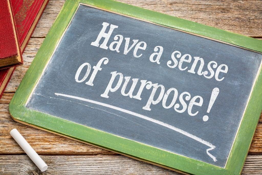 Have a purpose