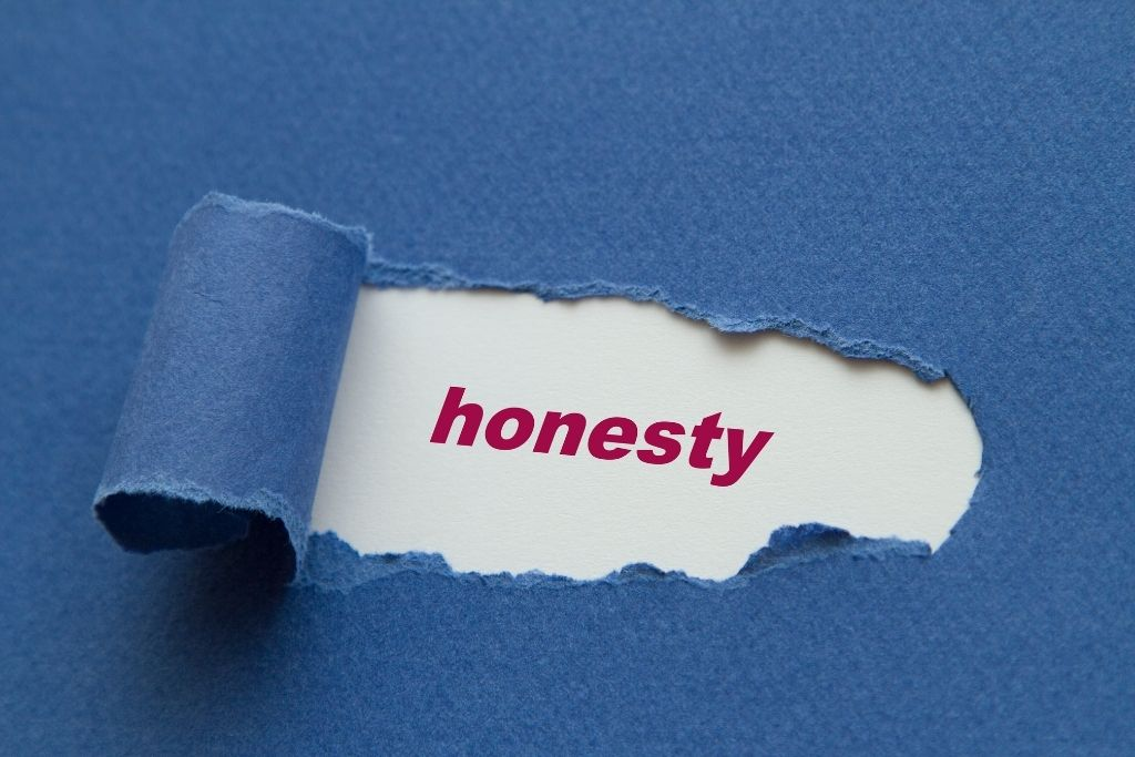 Practicing honesty