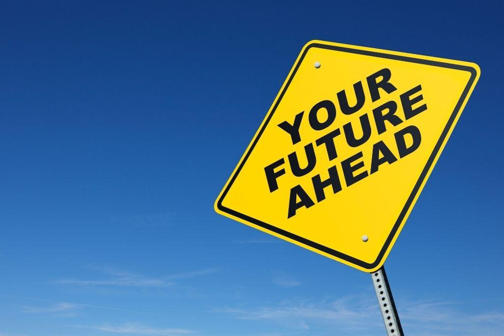 Visualize your future self