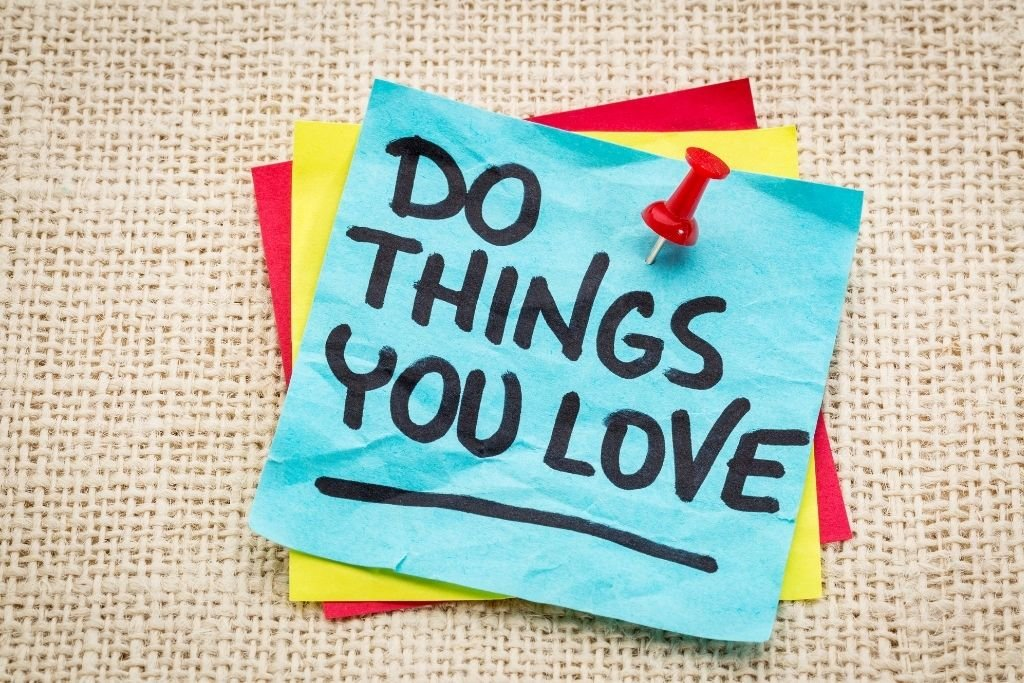 You get more time to do things you love