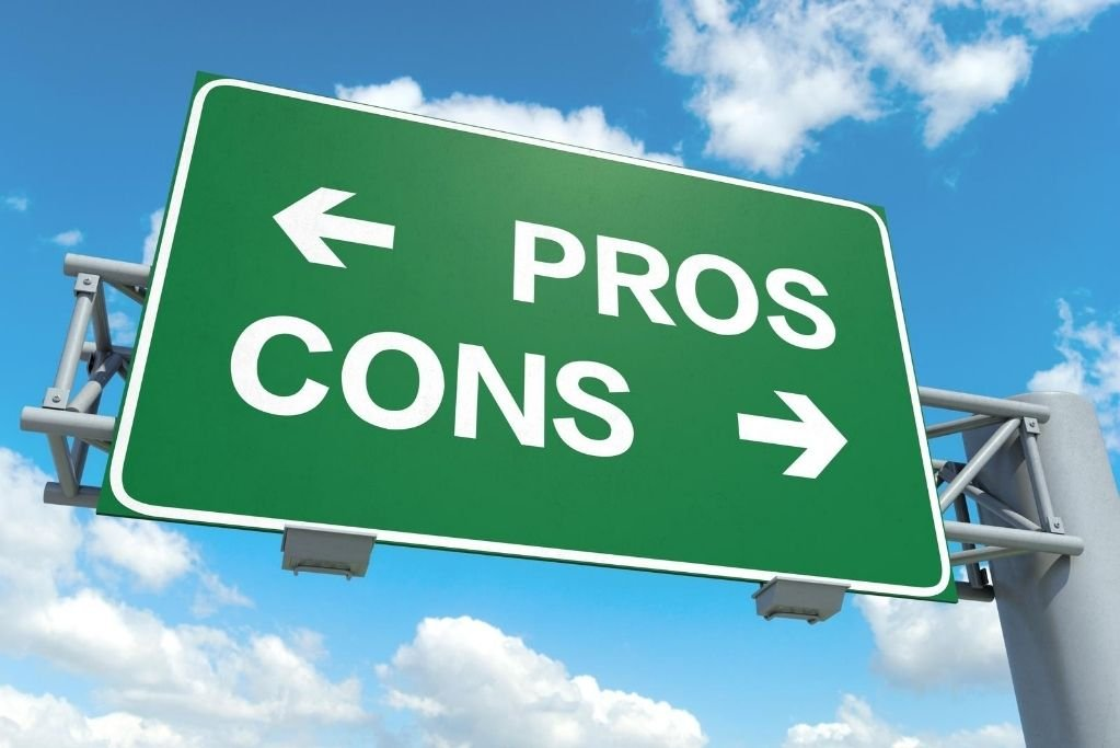 Assess the pros and cons