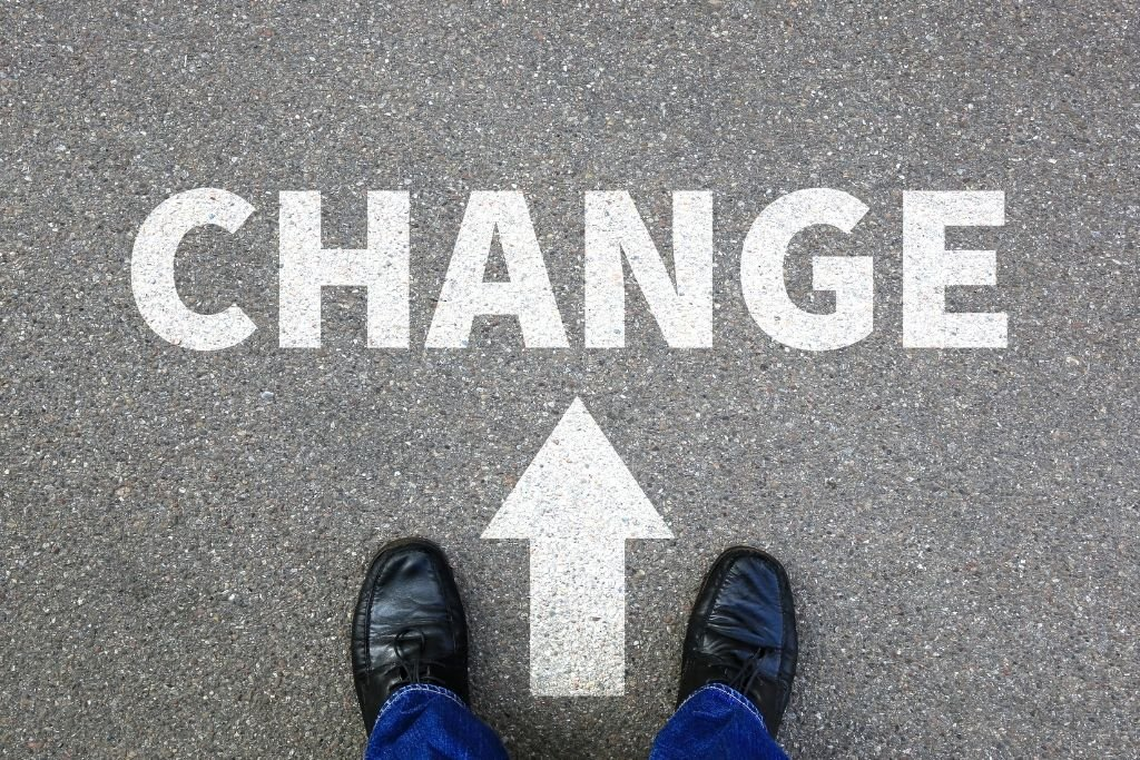 Change Improves your Life values and Sense of Self