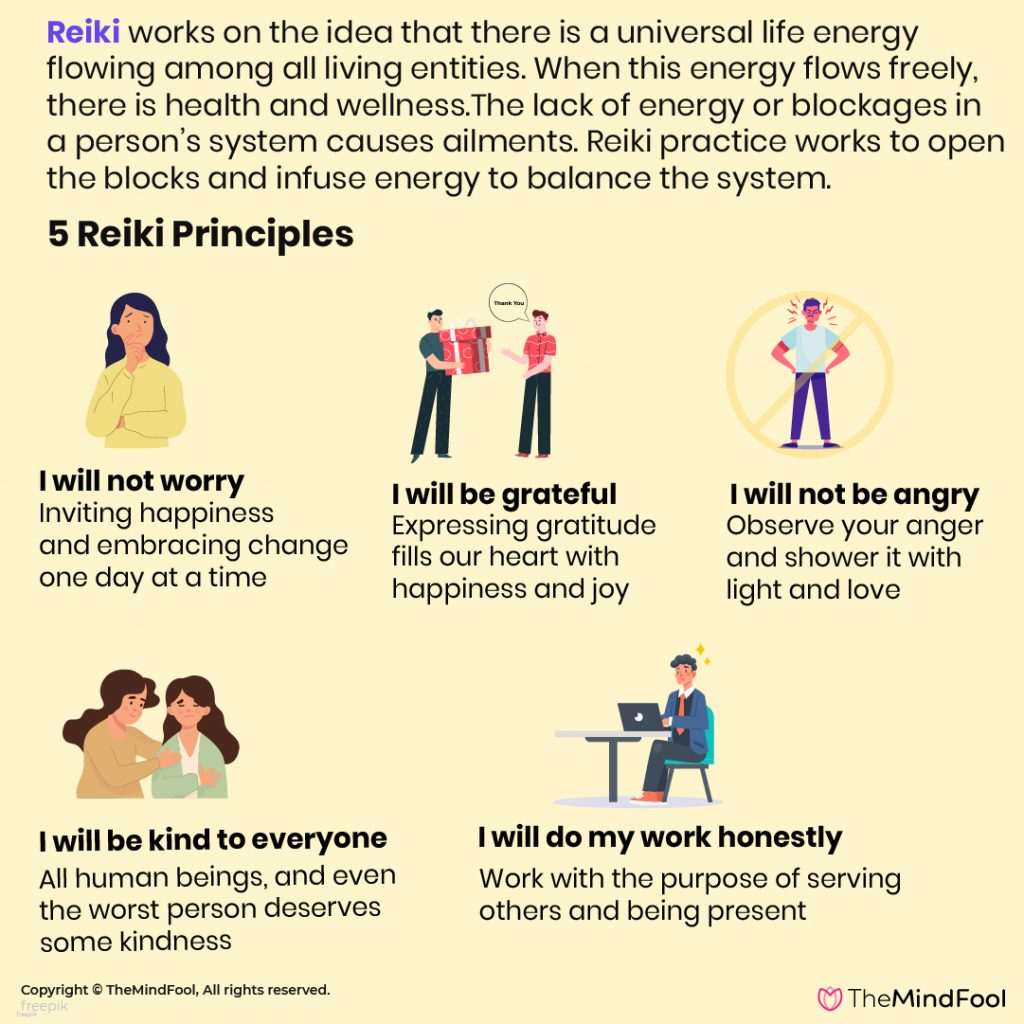 Five Reiki Principles to Lead an Energetic Life