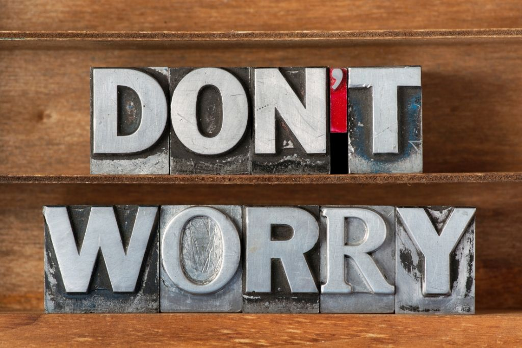 Reiki Principle #1 - I will not worry