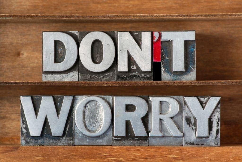 Reiki Principle #1 - I will not worry