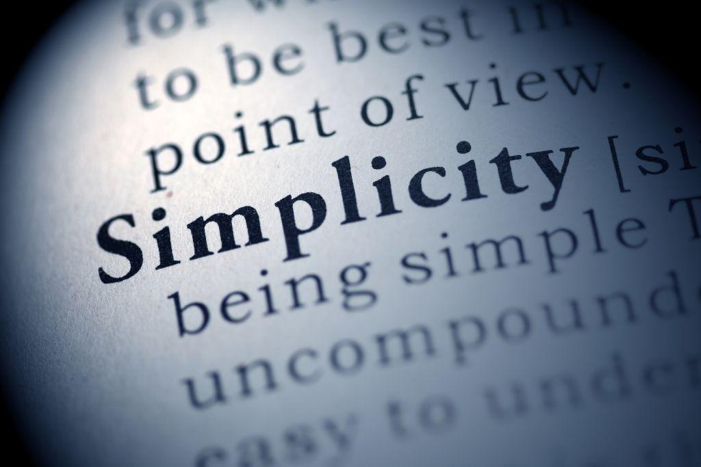 Embracing Simplicity