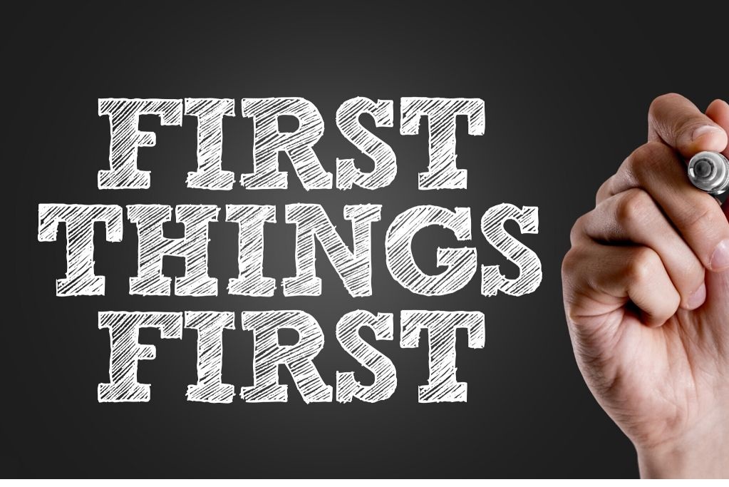 First things first – love yourself