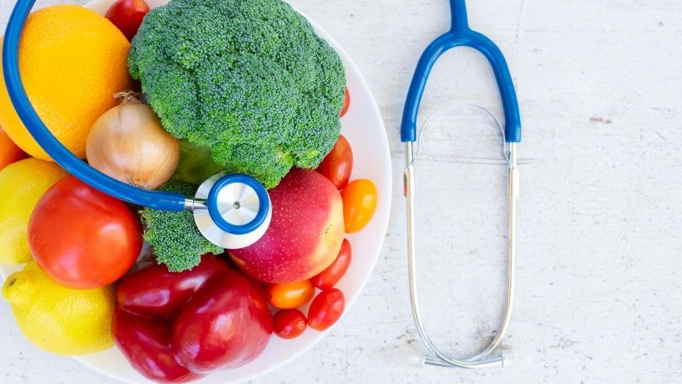 Healthy habits vision board