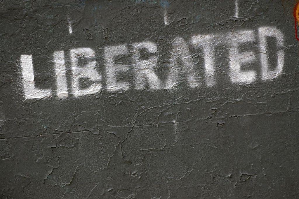 It liberates you