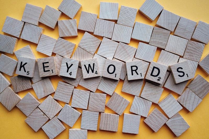 Keyword based vision board