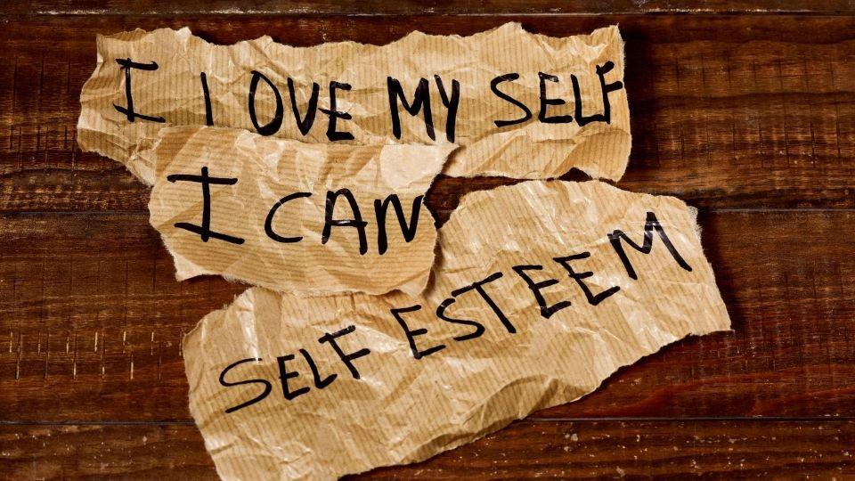 Ways to improve self esteem vision board