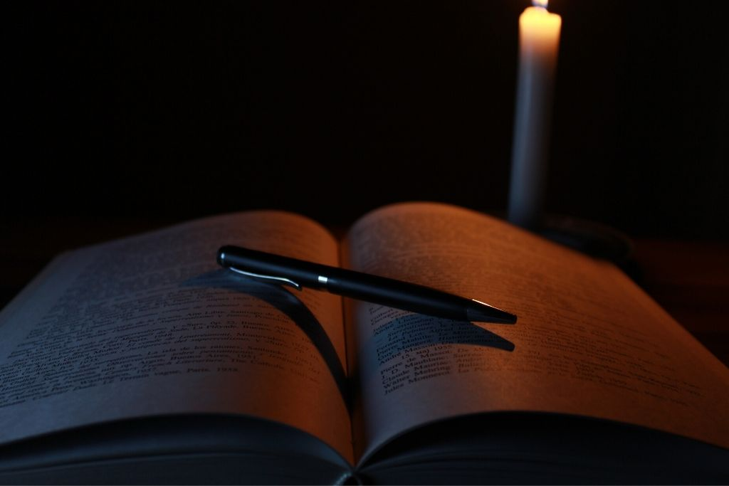 Books are the source of light on the darkest days