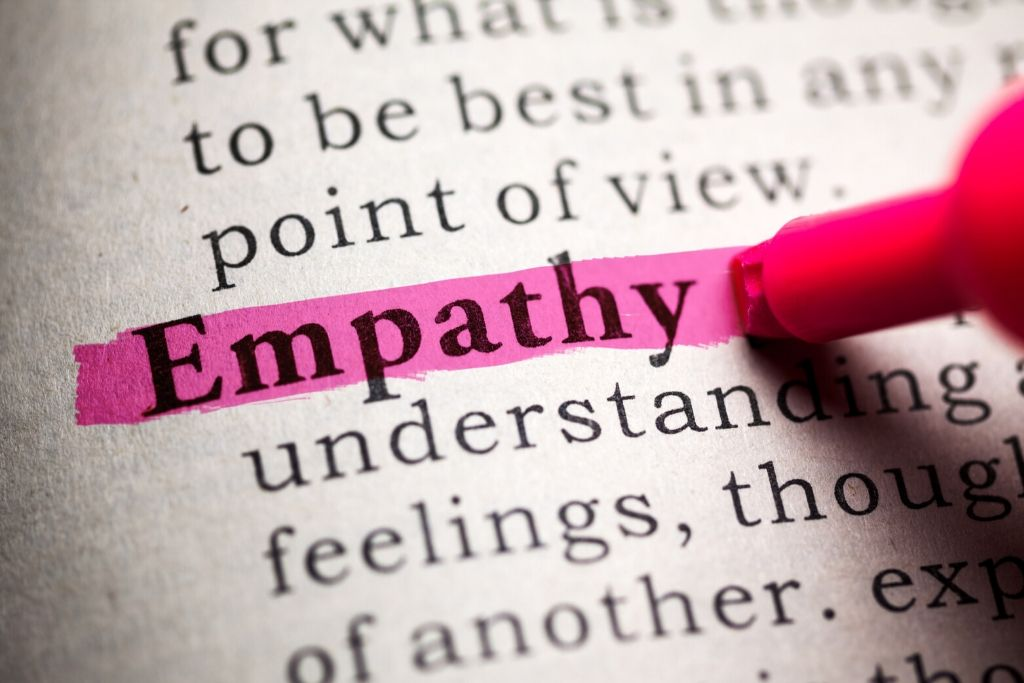 Helps you learn the art of empathy