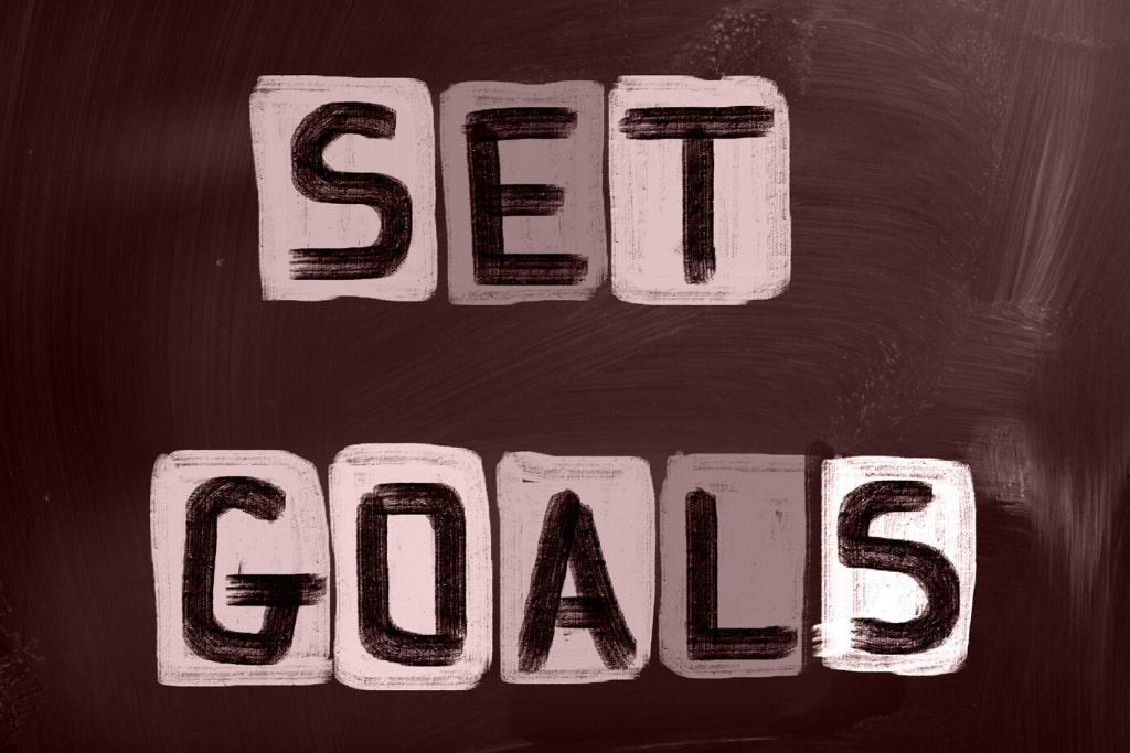 Set Fewer Goals