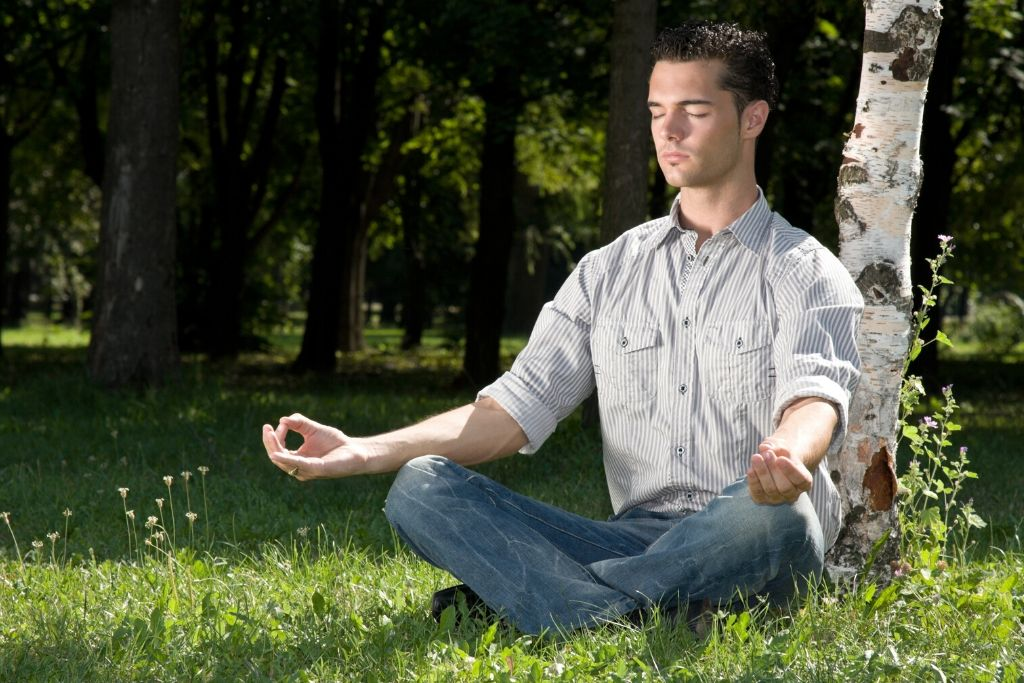 After work meditation