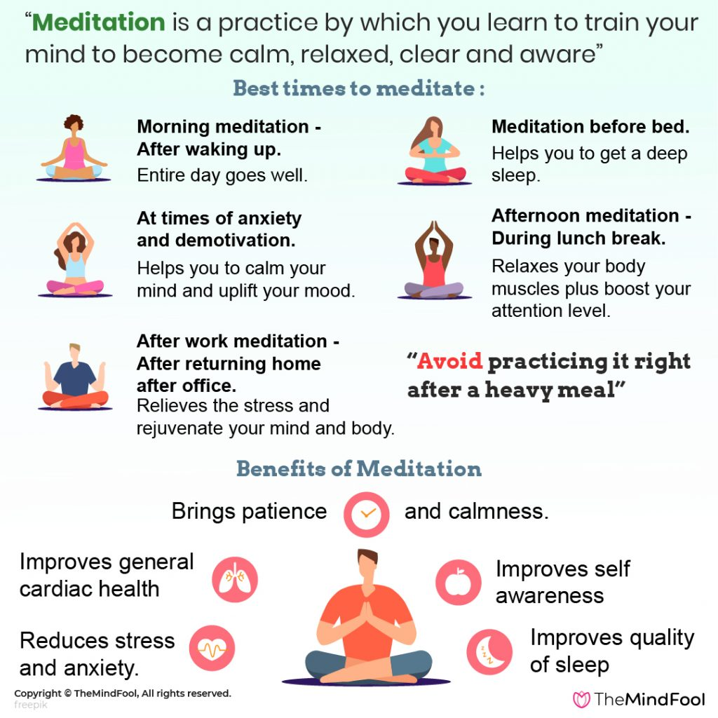 Meditation: How-To, Benefits & Best time to meditate