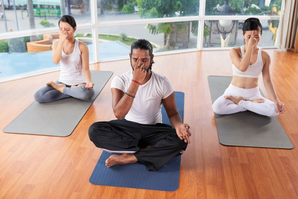 Breathing technique or Pranayama