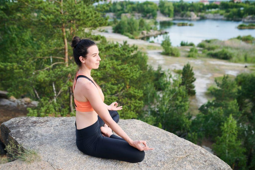 During Meditation