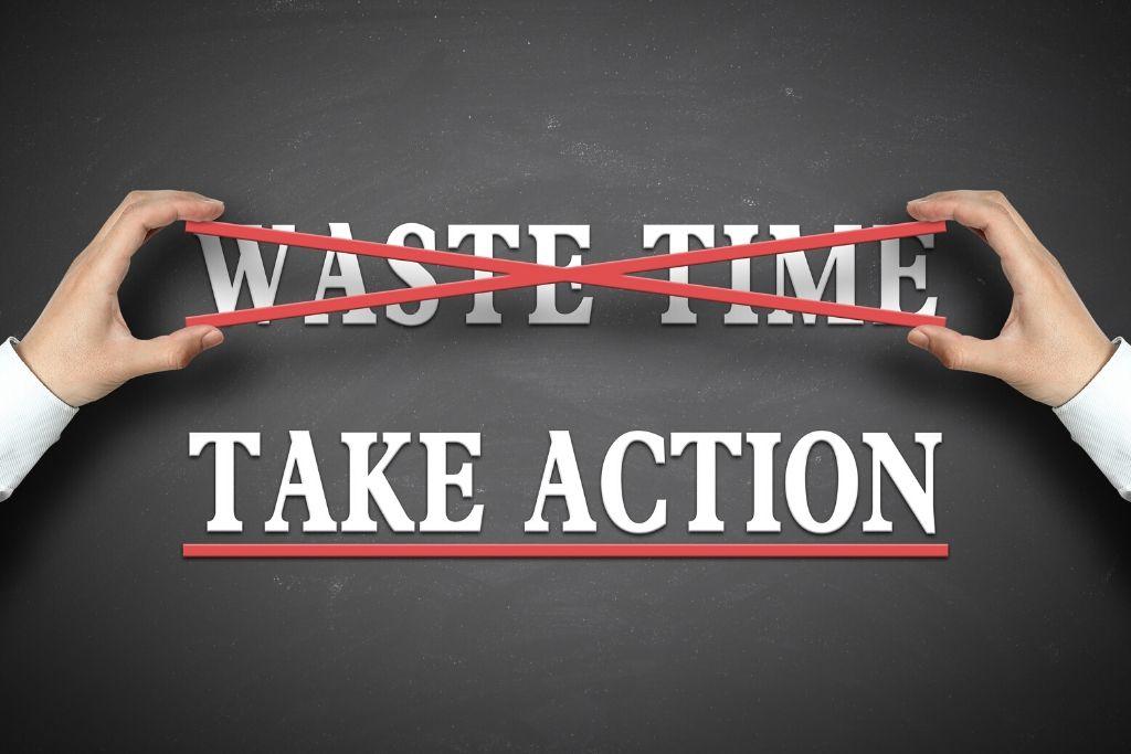 Start taking action