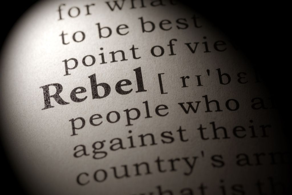 Sigma male are born to rebel