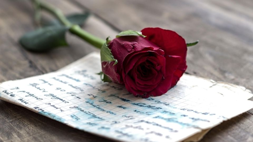 Send love letters to each other