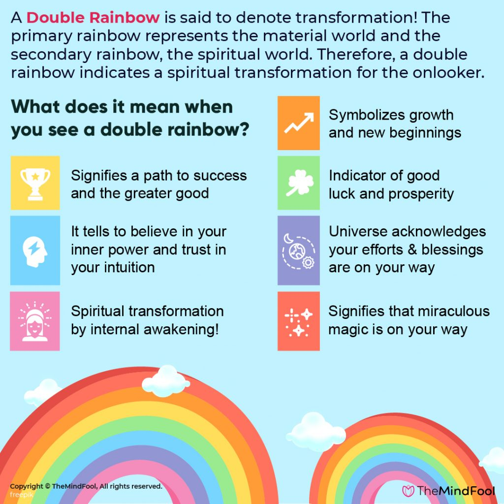 Everything about Double Rainbow meaning