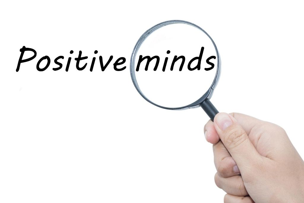 Fill your mind with positivity