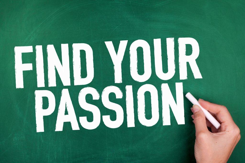 Find a passion