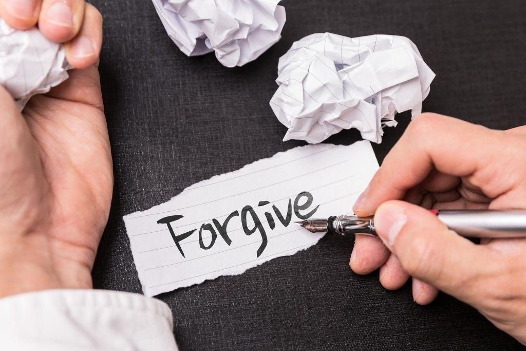 Practicing self-forgiveness