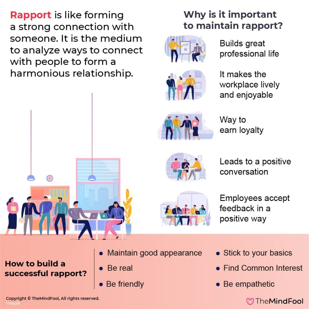 What is rapport building, how to build rapport.