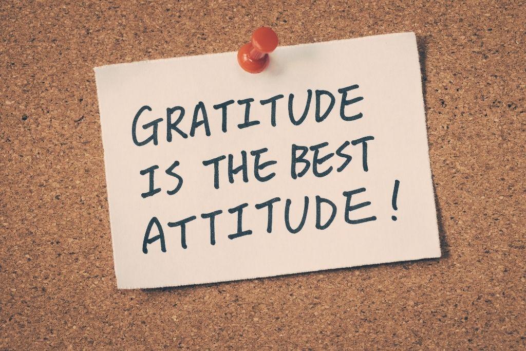 Yin Poses teaches gratitude