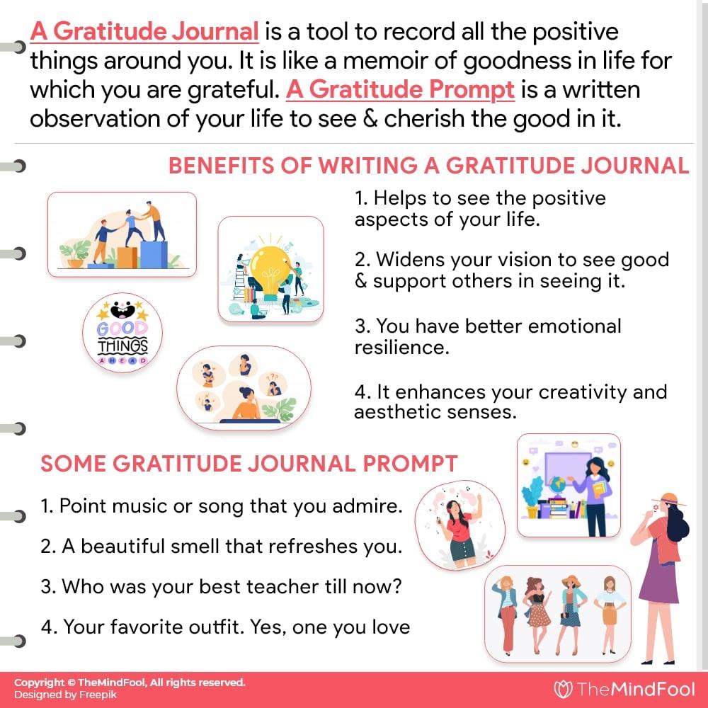 Gratitude Journal Prompts to Bring Optimism