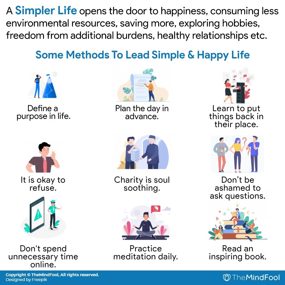 Simplify Your Life: 50 Quick Ways