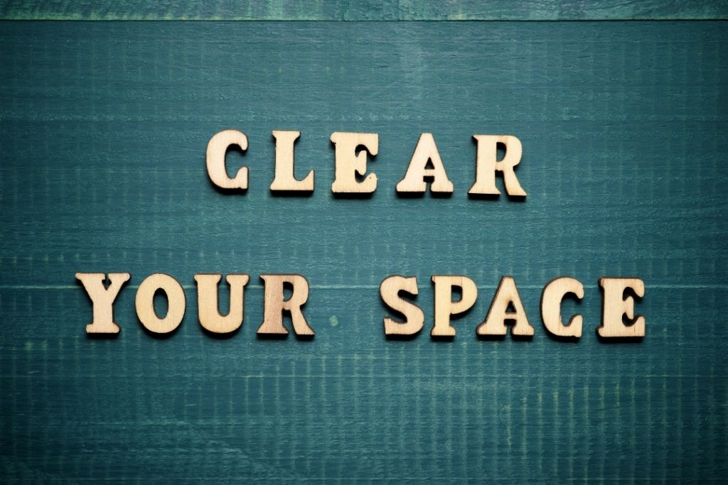 Cleanse your mental space