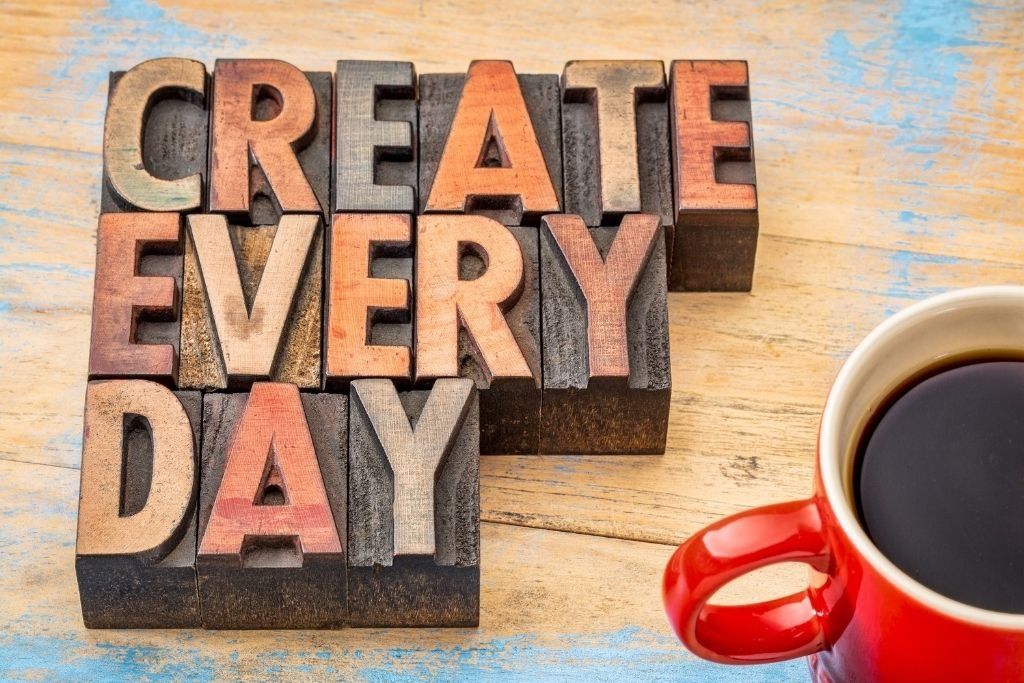Create an intention ritual every day