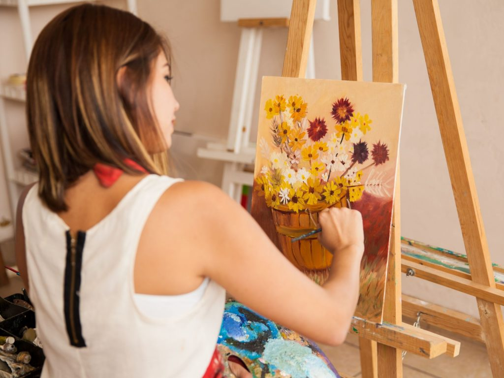 Creativity runs through your veins