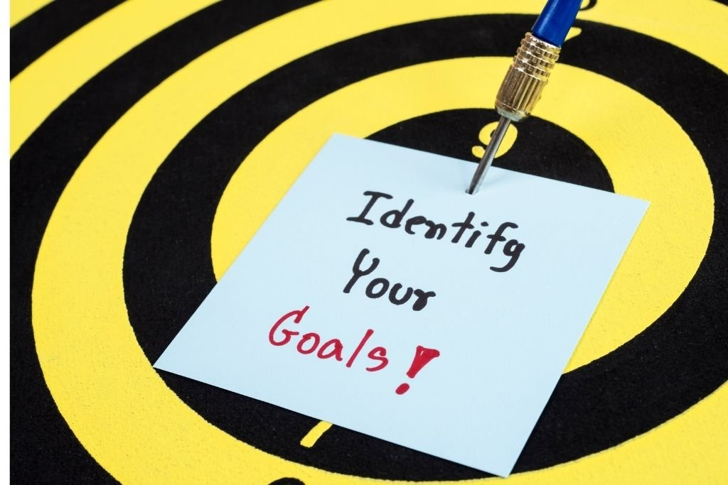Identify your goals and dreams
