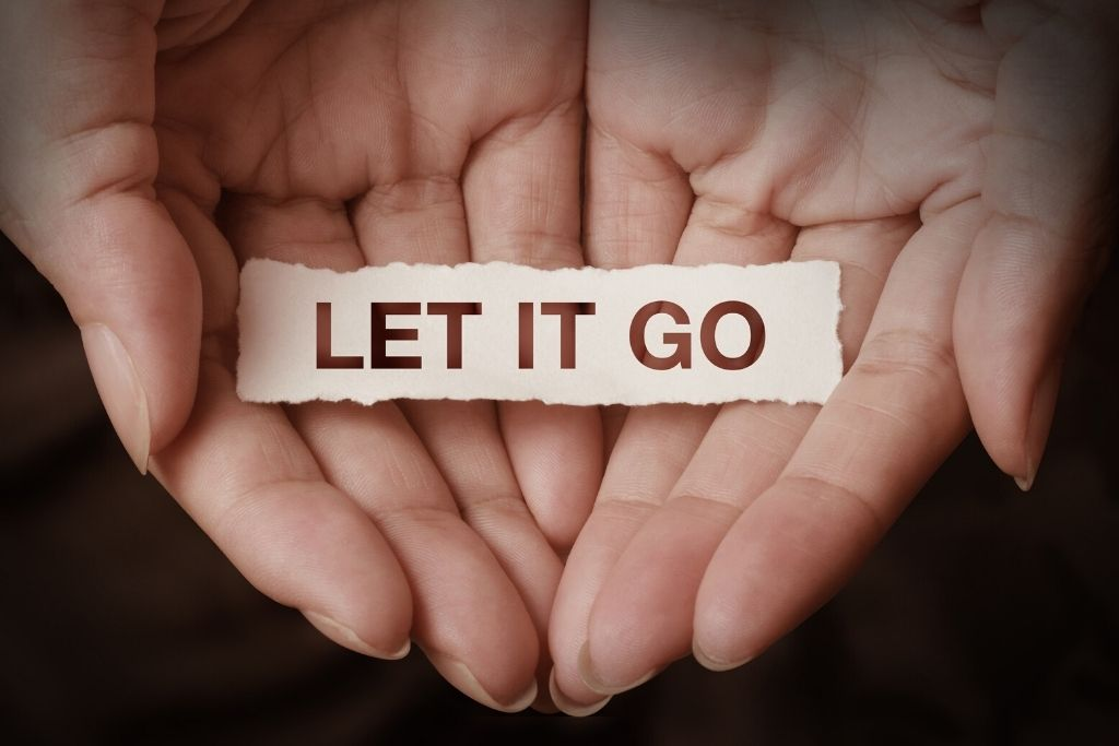 Let go negative emotions
