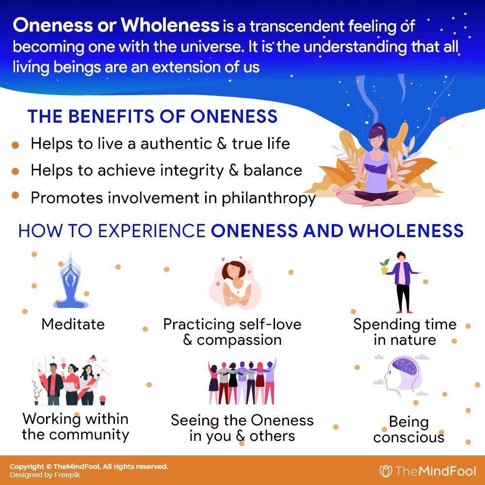 Oneness: Becoming Whole with the Universe